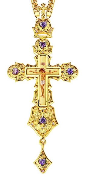Pectoral cross - A1 (with chain)