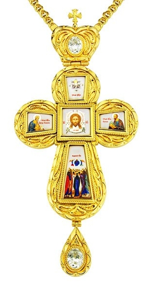 Pectoral cross - A21 (with chain)