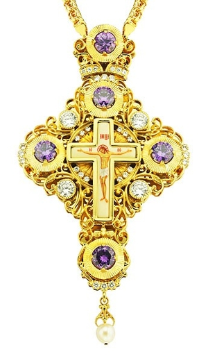 Pectoral cross - A53 (with chain)
