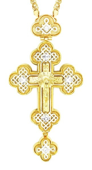 Pectoral cross - A71 (with chain)