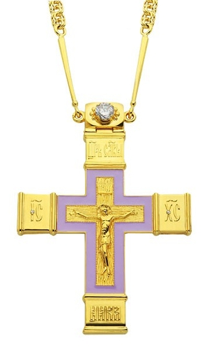 Pectoral cross - A73 (with chain)