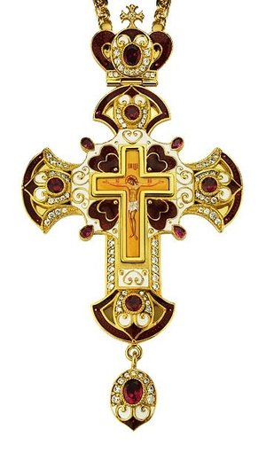 Pectoral cross - A84 (with chain)