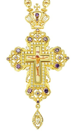 Pectoral cross - A93 (with chain)