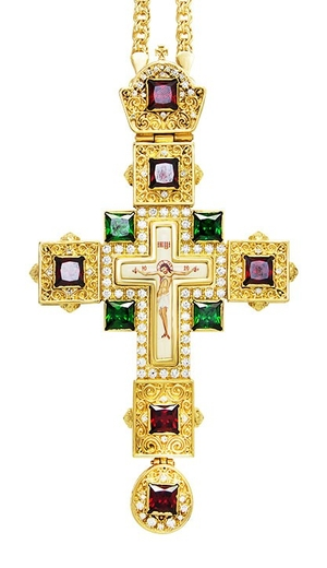 Pectoral cross - A99 (with chain)