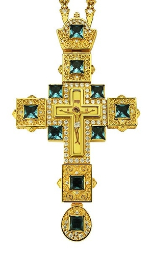 Pectoral cross - A99LP (with chain)