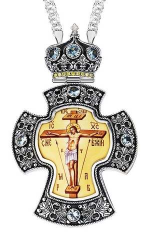 Pectoral cross - A101 (with chain)