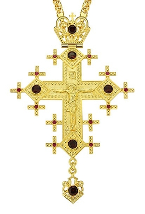 Pectoral cross - A102 (with chain)