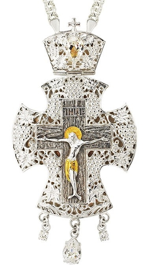 Pectoral cross - A120 (with chain)