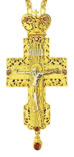 Pectoral cross - A123 (with chain)