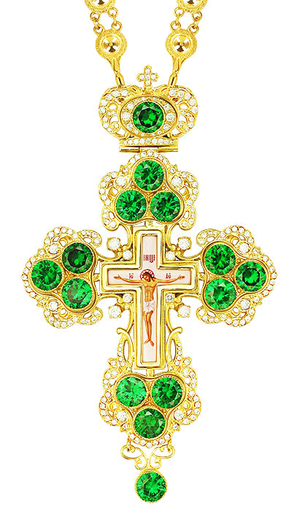 Pectoral cross - A126 (without chain)