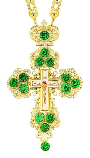 Pectoral cross - A126 (with chain)