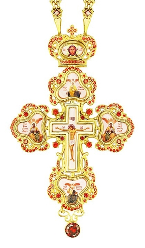 Pectoral cross - A127LP (with chain)