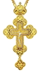 Pectoral cross - A128 (with chain)