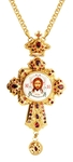 Pectoral cross - A129 (with chain)