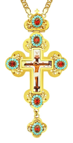 Pectoral cross - A132 (with chain)