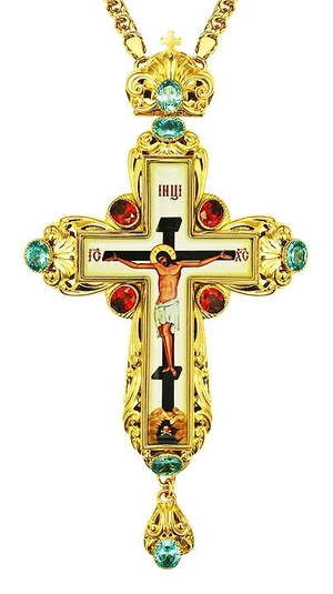 Pectoral cross - A134 (with chain)