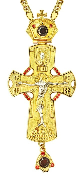 Pectoral cross - A136 (with chain)