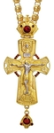 Pectoral priest cross no.136 with chain