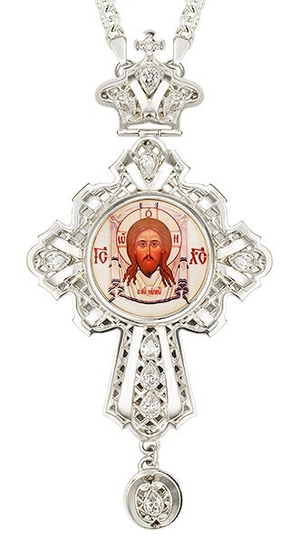 Pectoral cross - A141L (with chain)