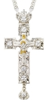 Pectoral cross - A142L (with chain)
