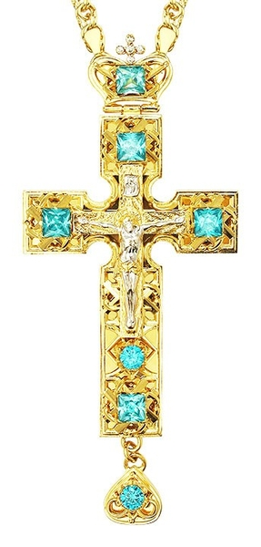 Pectoral cross - A142LP (with chain)