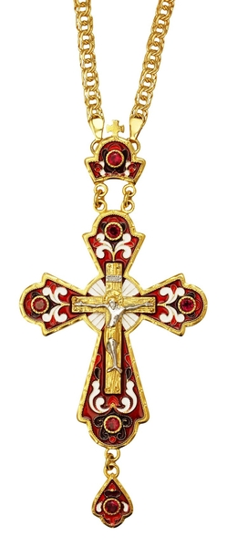 Pectoral cross - A145 (with chain)