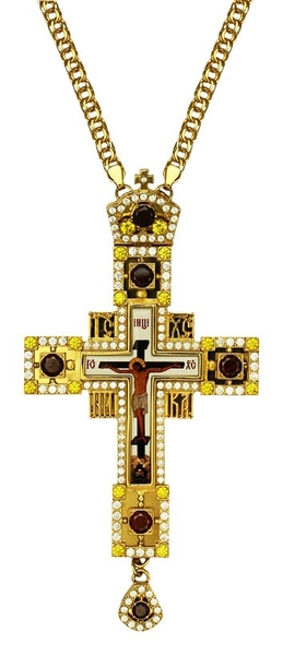 Pectoral cross - A148 (with chain)