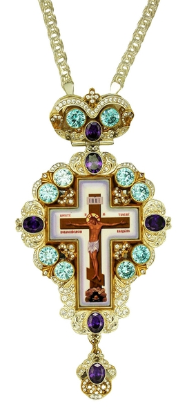 Pectoral cross - A150LF (with chain)