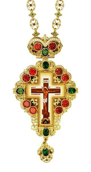 Pectoral cross - A150 (with chain)