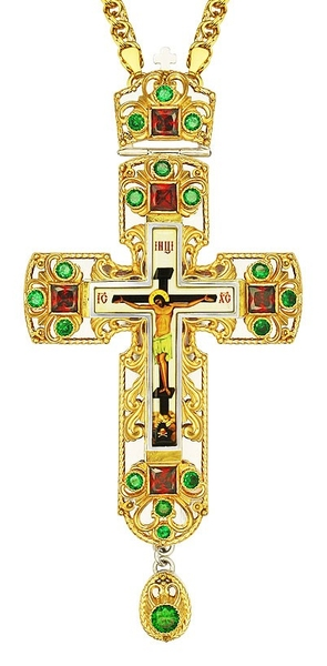 Pectoral cross - A152 (with chain)