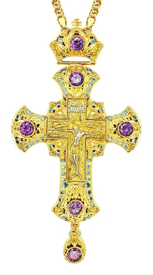 Pectoral cross - A153LP-1 (with chain)