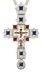 Pectoral cross - A155 (with chain)