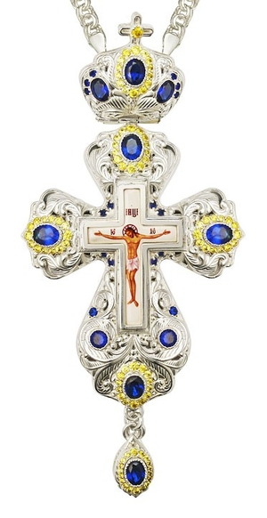 Pectoral cross - A156 (with chain)
