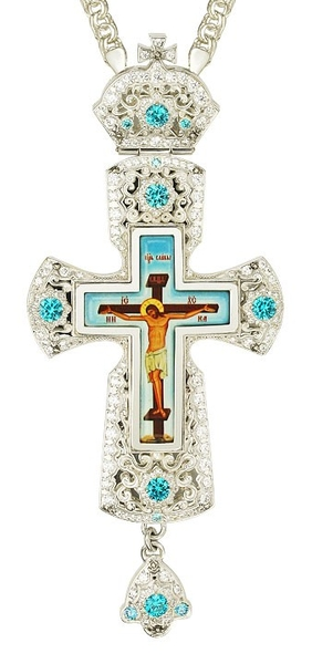 Pectoral cross - A159 (with chain)