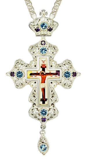 Pectoral cross - A163L (with chain)