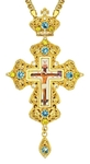 Pectoral cross - A163 (with chain)