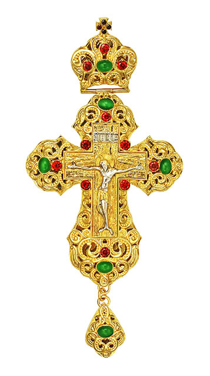 Pectoral cross - A164LP (without chain)