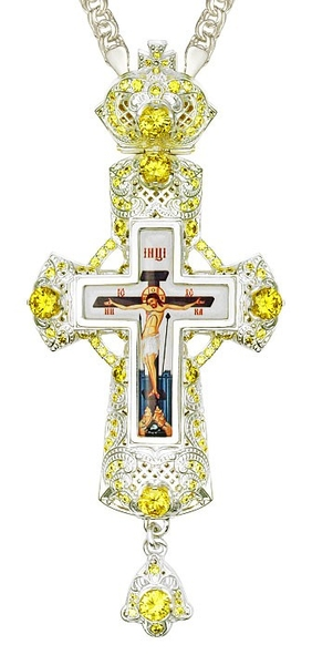 Pectoral cross - A178L (with chain)