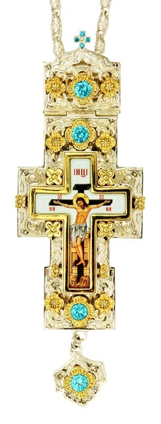 Pectoral cross - A189 (with chain)