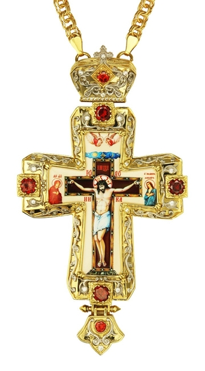 Pectoral cross - A196 (with chain)