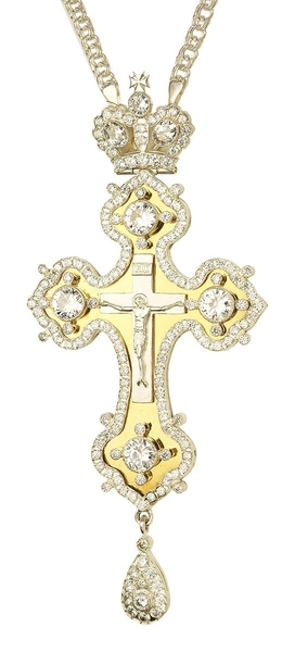 Pectoral cross - A198 (with chain)
