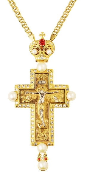 Pectoral cross - A240 (with chain)