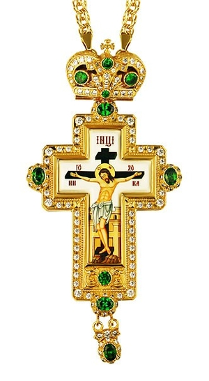 Pectoral cross - A248 (with chain)