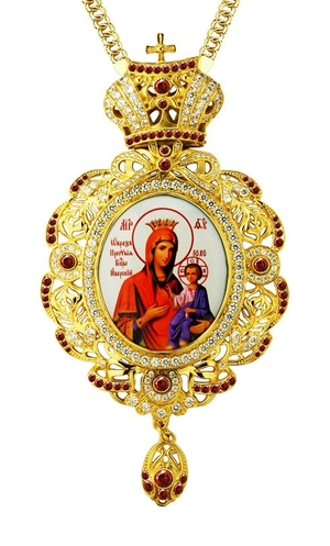 Bishop encolpion (panagia) - A602 (with chain)