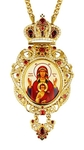 Bishop encolpion (panagia) - A1007 (with chain)