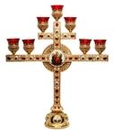 Church table seven-branch candelabrum - A1019