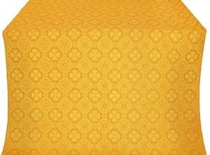 Pavlov Pokrov silk (rayon brocade) (yellow/gold)
