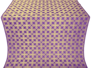 Pokrov metallic brocade (violet/gold)