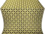 Pokrov silk (rayon brocade) (black/gold)