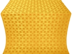 Pokrov silk (rayon brocade) (yellow/gold)